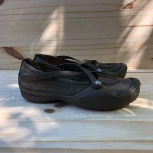 Crocs Mary Jane Flats. Women's Size 5
